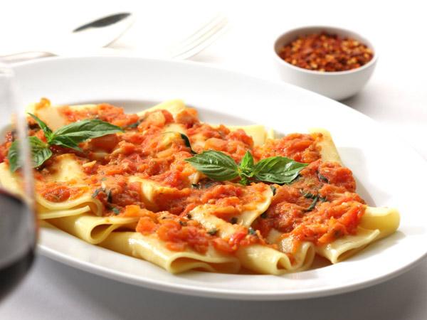 White pastas