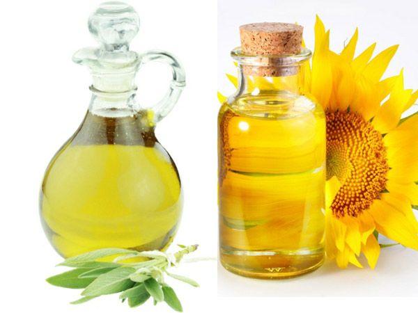 Oils like sunflower