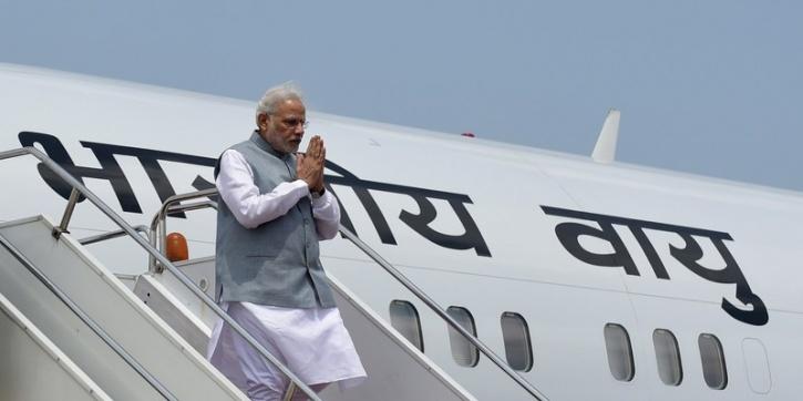 modi flight landing