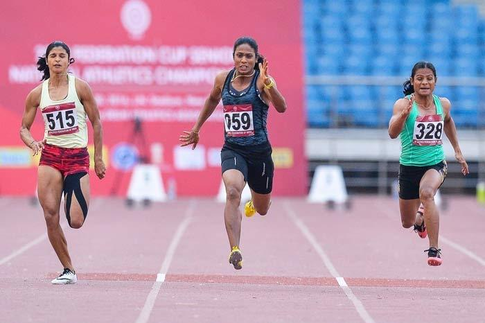 Image result for Odisha government will give double chunk of Rs 1.5 crore to Dutee Chand