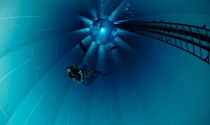 The World S Deepest Swimming Pool Is So Deep That It Can Easily Fit