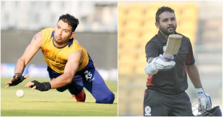 Yuvraj and Parthiv Patel