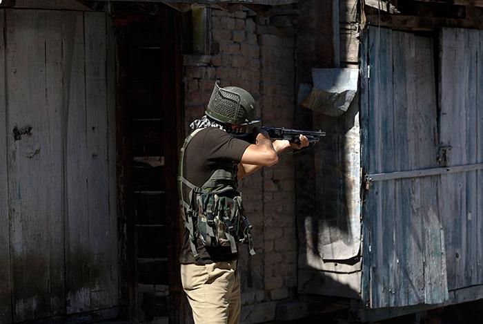 Army Man With Pellet Gun