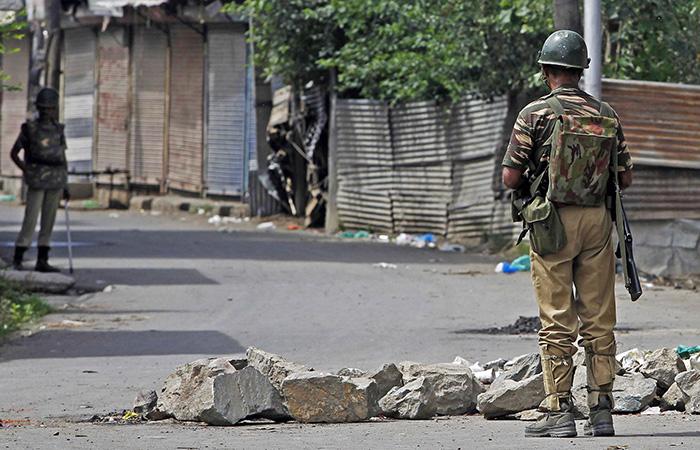 Curfew in Kashmir