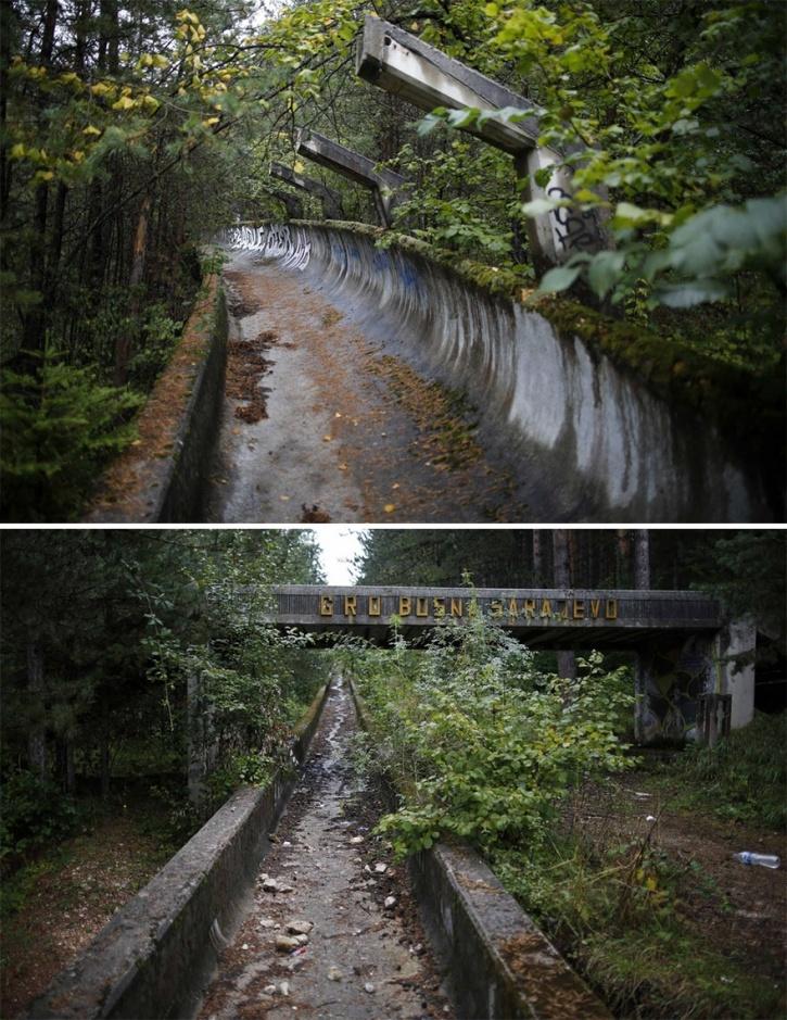 Abandoned Olympic Stadiums