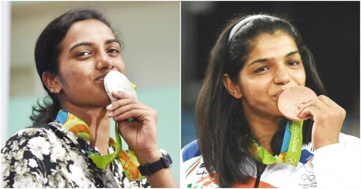 Sindhu and Sakshi