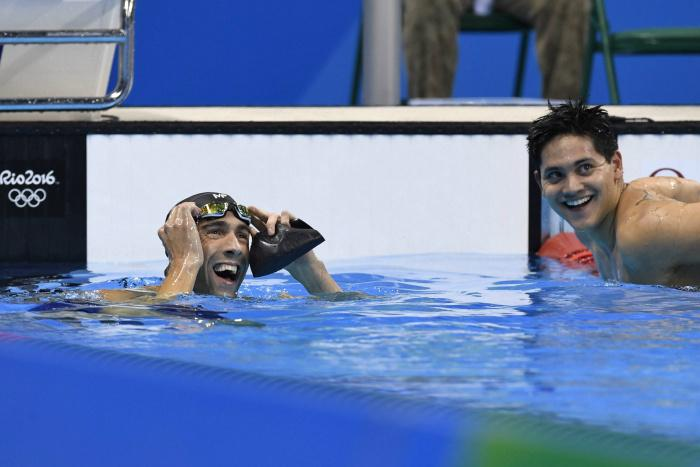 Schooling with Phelps