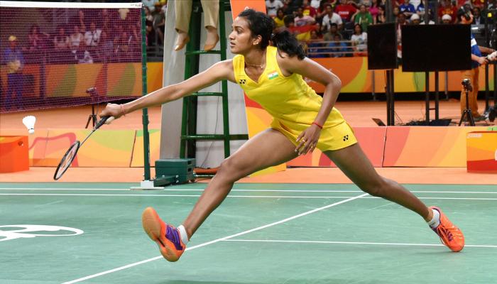 Sindhu plays