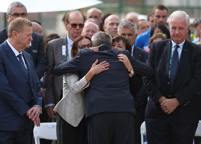 IOC pays tribute to Israeli victims of Munich massacre
