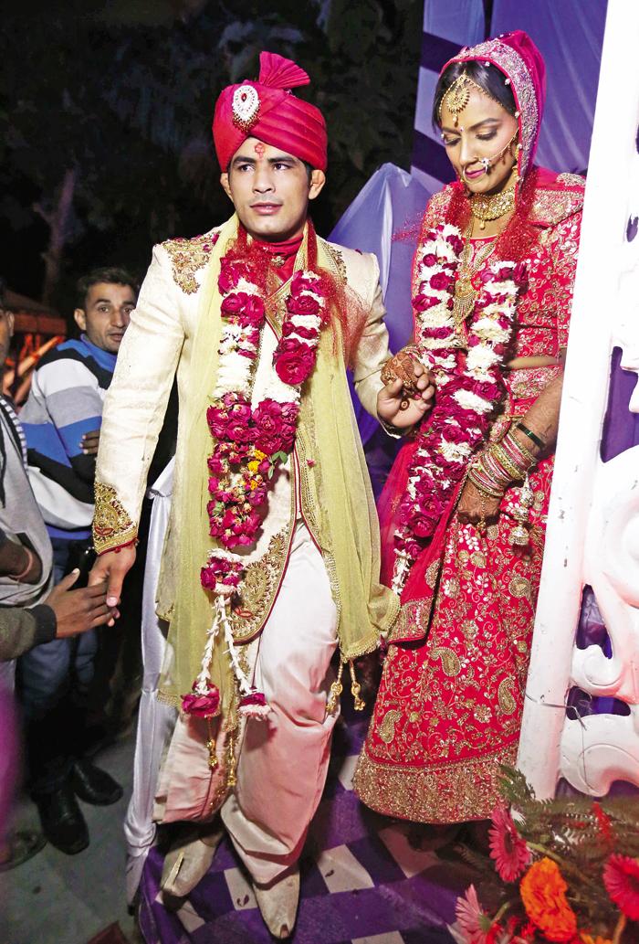 Pawan with Geeta