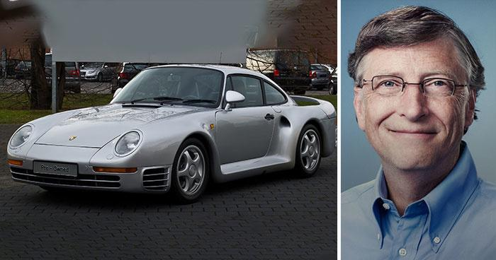 12 Billionaires And Their Swanky Cars Will Make You Go Green With