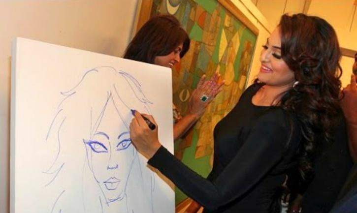 sonakshi paintings