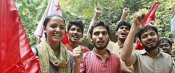 JNU communists