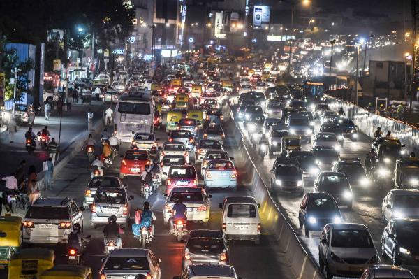 traffic delhi
