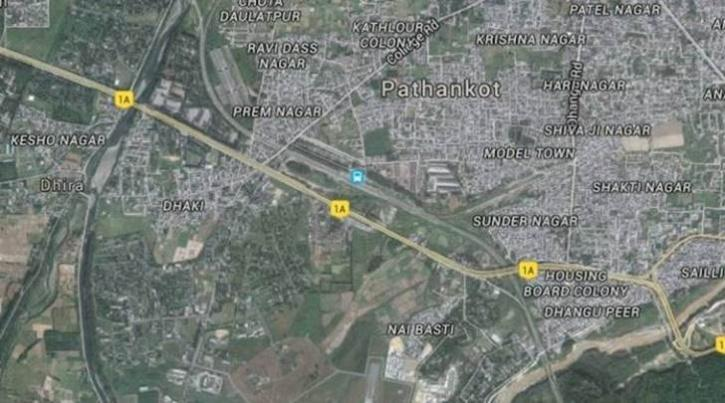 pathankot on google maps