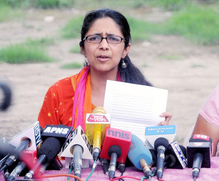 Delhi Commission for Women (DCW) Chairperson Swati Maliwal