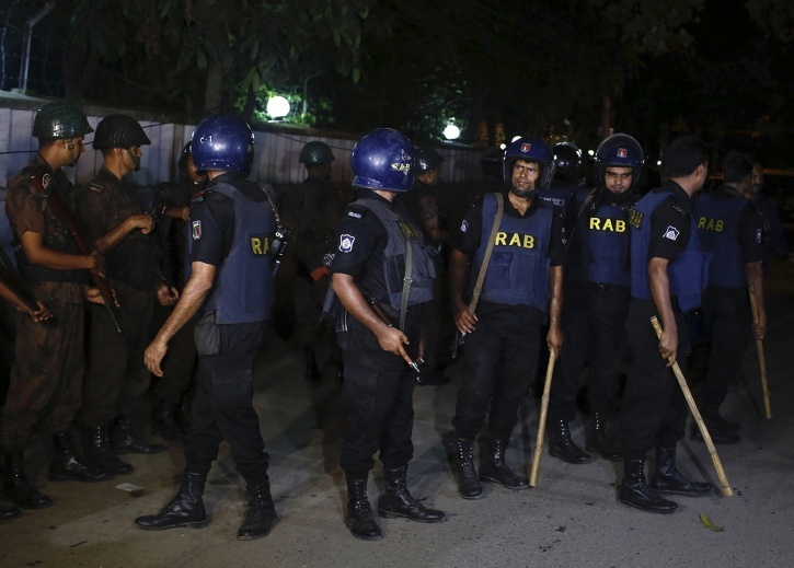 Attack In Dhaka