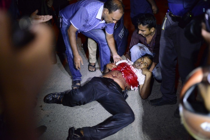 Hostage Crisis In Dhaka