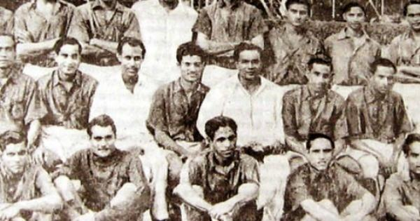 Image result for indian football team 1948 played barefoot