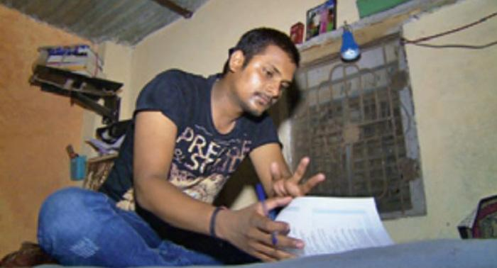 Studying In Kota Jail Cell With His Father, Murderer