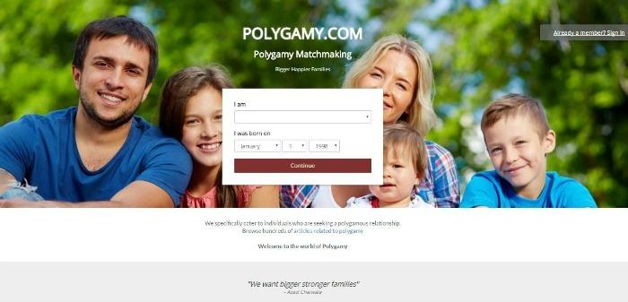 Best polygamy dating