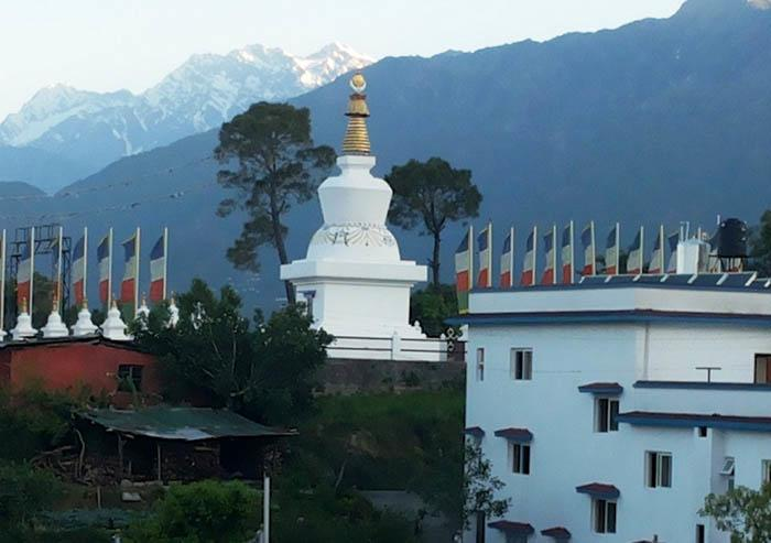 A Buddhist Stupa dedicated to Veteran Actor Kabir Bedi's Mom in Himachal Pradesh