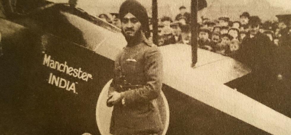 Flying Sikh Hardit Singh Malik