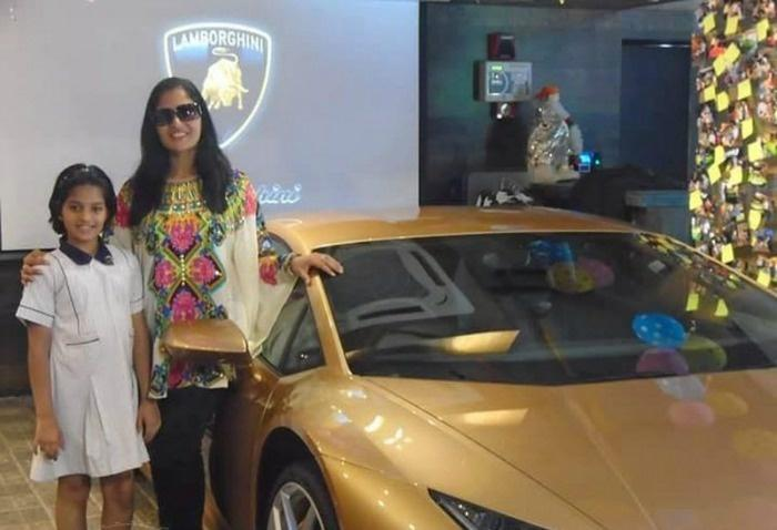Meet Sheetal Dugar The First Indian Woman To Own A Lamborghini