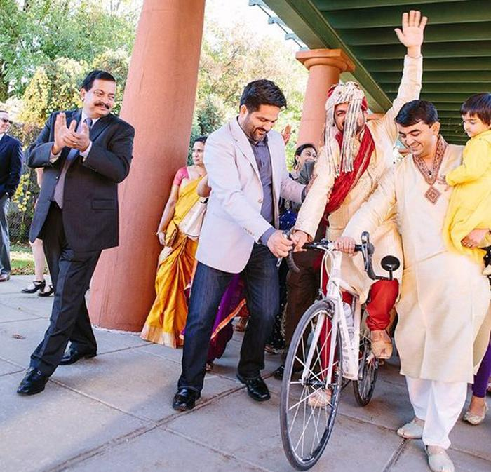 258 Grooms Will Pedal To Their Wedding