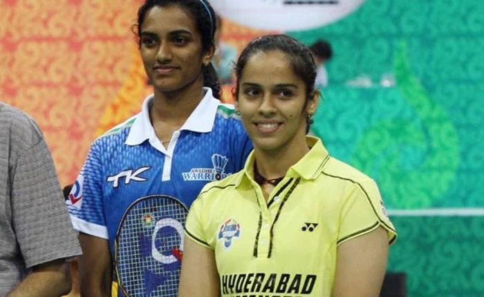 Saina Nehwal & PV Sindhu