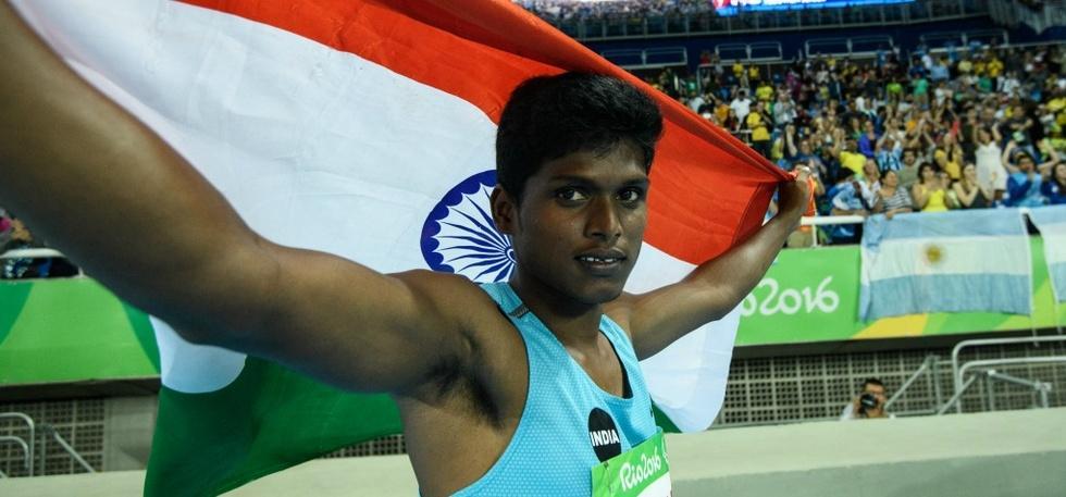 India Paralympics Gold Rio Paralympics