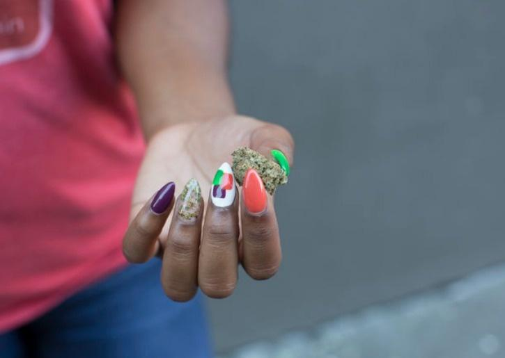 A New Type Of Manicure Called \'Weedicure\' Puts Actual Ground Up Weed ...