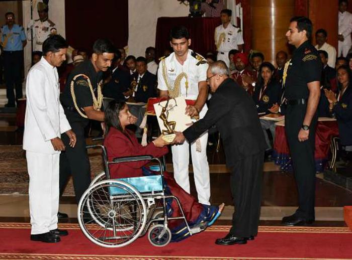 Vinesh arjuna award