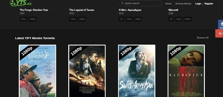 yts movies browse