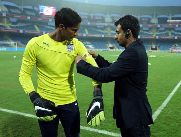 India goalkeeper Subrata Pal
