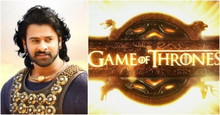 Bahubali Prabhas, Game of thrones
