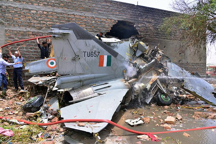 IAF Crashes