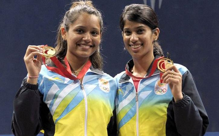 Image result for joshna chinappa and dipika pallikal