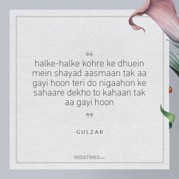 20 Hauntingly Beautiful Lines By Gulzar On Pain And Love That Speak