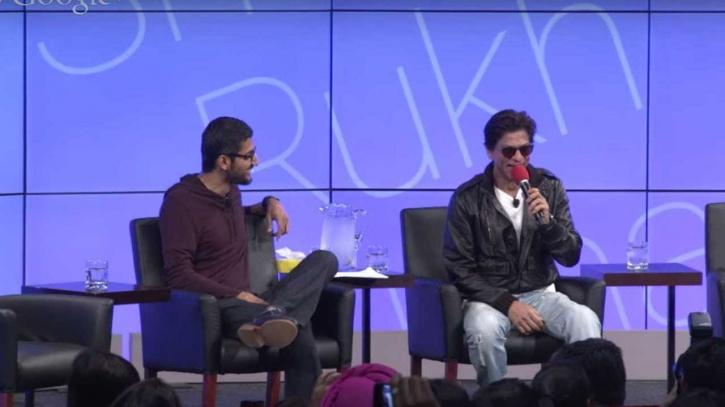 SRK and Pichai