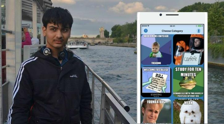 17-YO Indian Teenager Builds The Ultimate Meme App With Machine