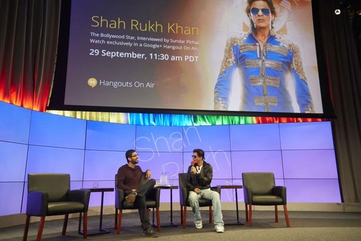 Pichai and SRK