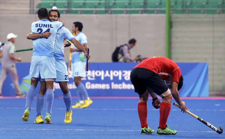 India v Korea: Men