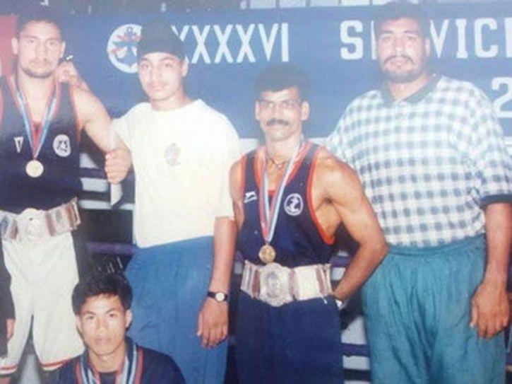 Olympian Lakha Singh