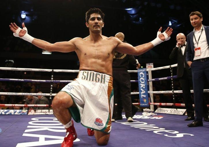 Vijender Singh has not lost a fight since turning pro in 2015
