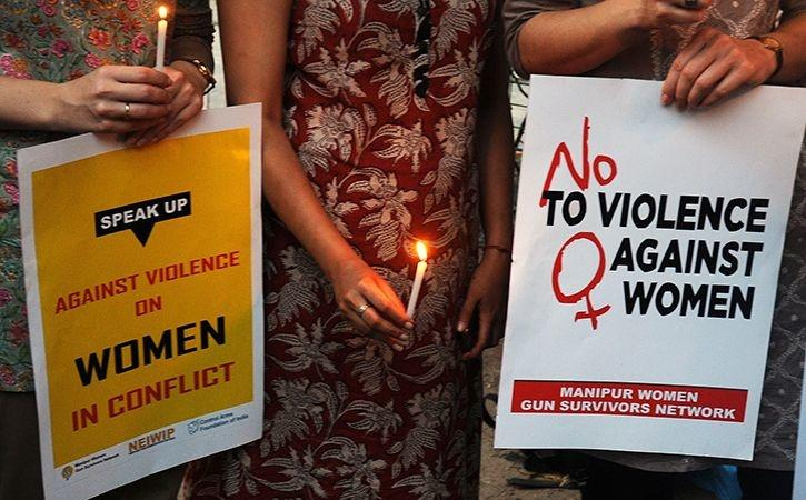 was allegedly gang raped by five youths