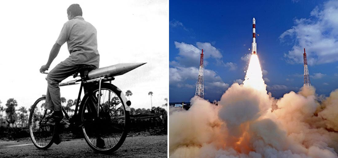 First and Latest Rocket of India