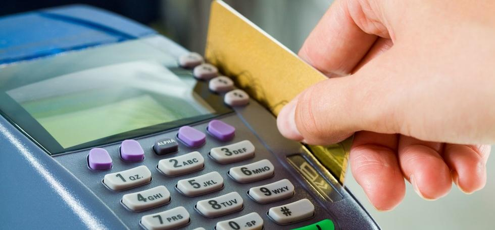credit cards, pos machines,