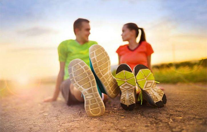 Running as a friendly activity