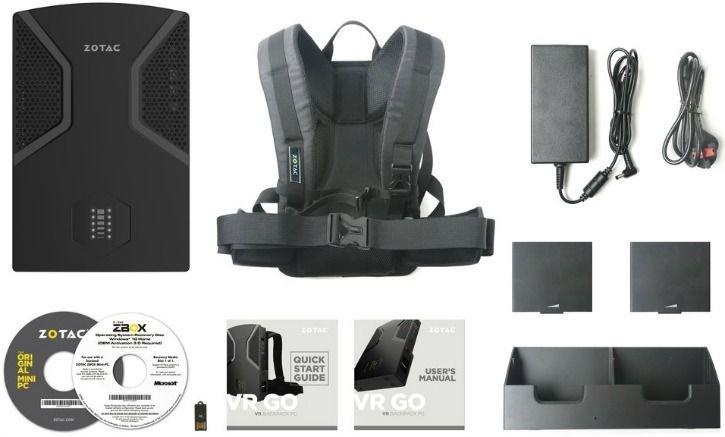 The Zotac VR GO Squeezes A Gaming PC In A Backpack & It's